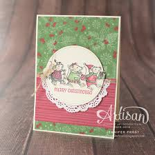 stitched shapes framelits merry mice this christmas specialty