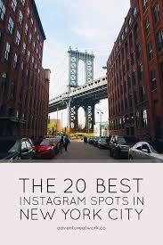 the 20 best instagram spots in new york city articles instagram