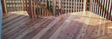 a cedar deck vs pressure treated vs composite choosing the
