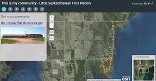 Esri Story Maps Michael Li Promoting Gis To First Nations Community Schools