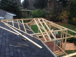 How To Build A Wood Awning Over A Deck How To Build A Hip Roof 15 Steps With Pictures Wikihow
