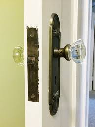 Vintage Glass Door Knobs by Glass Doorknobs Keep Or Replace Rather Square