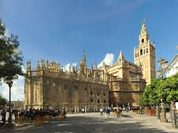 Map Of Seville Spain by Seville Cathedral Wikipedia