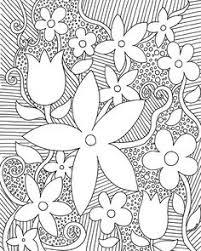 cross flowers coloring flowers coloring
