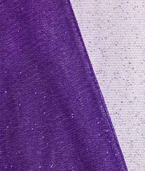 purple tulle purple glitter tulle fabric by the yard