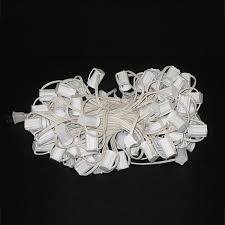 white string lights white cord c9 string lights 100 ft white cord c9 light cords