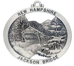 blacksmith shop covered bridge ornament