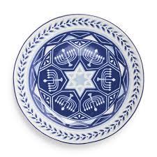 hanukkah tableware bubbe s bargains hanukkah plates chai home