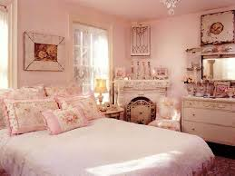 bedroom fancy chic bedroom decor with white painted wood bed and
