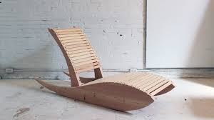 A Rocking Chair Diy Rocking Lounge Chair 1 0 Youtube
