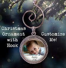 Baby Keepsake Ornaments 9 Best Christmas Ornaments Images On Pinterest Custom Photo