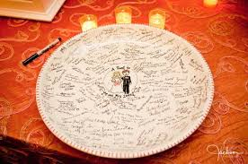 wedding guest book platter wedding guest book plate wedding tips and inspiration