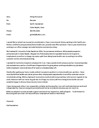 cover letter and resume 2015