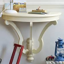 Half Moon Table Recycled Chic Half Moon Table Upcycling Ideas Storage Ideas