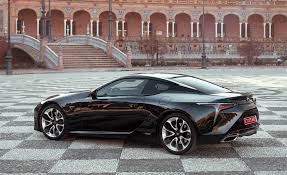 lexus coupe black 2018 lexus lc 500h black exterior side and rear gallery photo 55