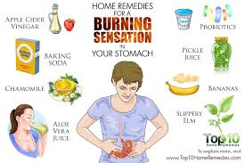 Home Remedies For Small Burns - home remedies for a burning sensation in your stomach top 10
