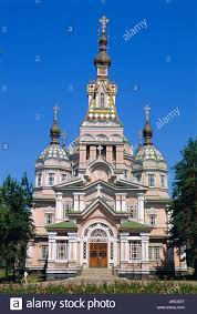zenkov cathedral 1904 made of wood with no nails alamty stock