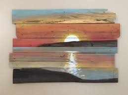artwork on wooden boards best 25 wood painting ideas on painting on wood