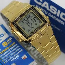Jam Tangan Casio Gold jam tangan casio pria db 360 warna gold original