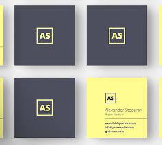 Graphic Designers Business Card Mini Square Business Card Psd Templates Design Graphic Design