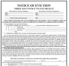 notice of eviction template sitezen co
