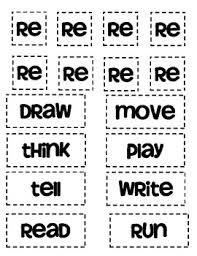 prefix re worksheets 1 affixes pinterest prefixes