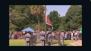 Confederate Flag Alabama Watch Confederate Flag Come Down From South Carolina U0027s Capitol