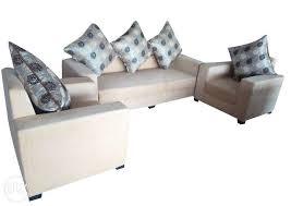 New Designer Straight Line Sofa  Seater Gurgaon Furniture - Straight line sofa designs