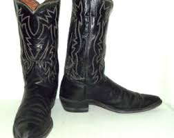 womens cowboy boots in size 12 vintage cowboy boots mens black leather size 12 d