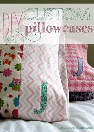diy custom pillowcases averie lane diy custom pillowcases