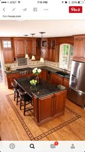 Island Kitchen Layouts by Best 20 Dark Granite Kitchen Ideas On Pinterest Black Granite