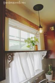 Kitchen Window Curtains Ideas by Best 25 Half Window Curtains Ideas On Pinterest Kitchen Window