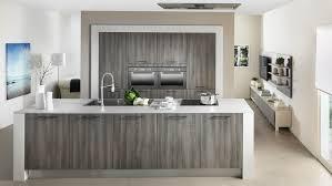 cuisine bois gris moderne cuisine moderne gris anthracite et bois newsindo co