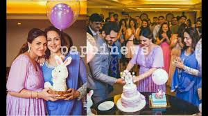 esha deol u0027s second baby shower youtube