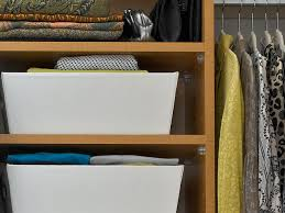 storage shelves with baskets closet storage baskets hgtv