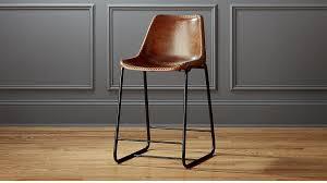 unique counter stools vanity leather counter stools of roadhouse 24 stool cb2 tokumizu