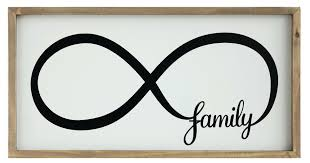 family sign wall decor shop for the sayings infinity at diy ideas