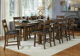 11 piece gathering table and ladderback side chair set by aamerica