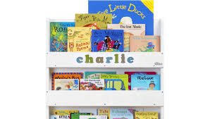 personalised children u0027s bookcase white tidy books u0027 original design