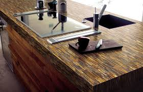 kitchen natural stone countertop options with electric stove