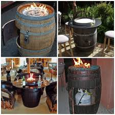 How To Build A Propane Fire Pit Table by Diy Wine Barrel Fire Pit Table Homestead U0026 Survival