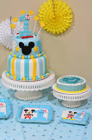 mickey u0027s fun to be one birthday party ideas