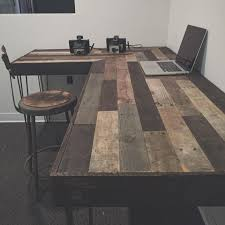 rustic l shaped desk pin by roland brad on burbon pinterest desks woods and