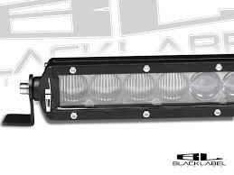 20 single row led light bar 20 inch black label lighting single row led light bar bumper kit for