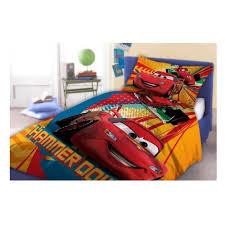 chambre mcqueen cars flash mcqueen linge parure de lit housse de couette 160x200