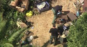 california backyard military explosives found in california backyard neighborhood
