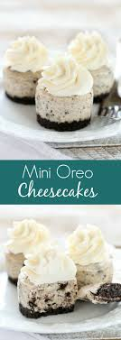 best 25 mini desserts ideas on mini cheesecakes oreo