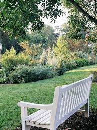 the many moods of garden benches