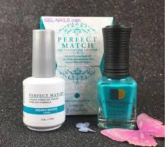 perfect match riding waves pms175 gel polish u0026 nail lacquer