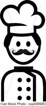 pictogramme cuisine cuisinier cuisine pictogramme illustration vecteurs rechercher